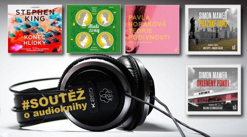 Audioknihy OneHotBook soutěž