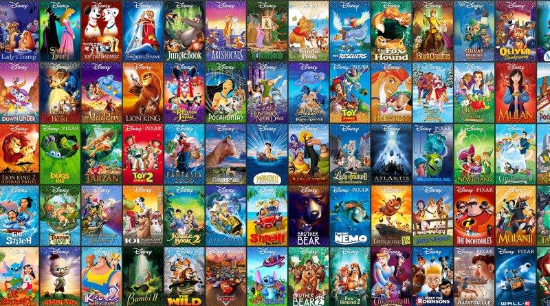 Disney - kolekce filmů