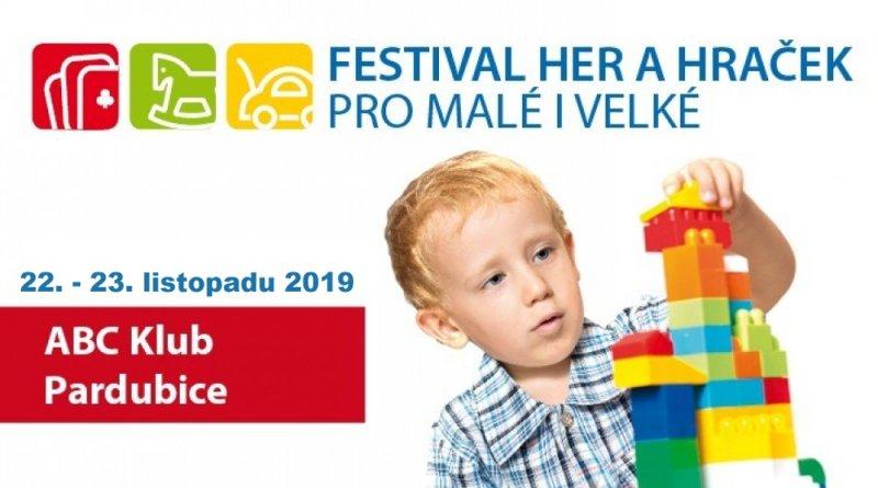 Festival her a hraček Pardubice 2019