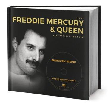 Freddie Mercury & Queen - Excentrický fenomén - obal knihy