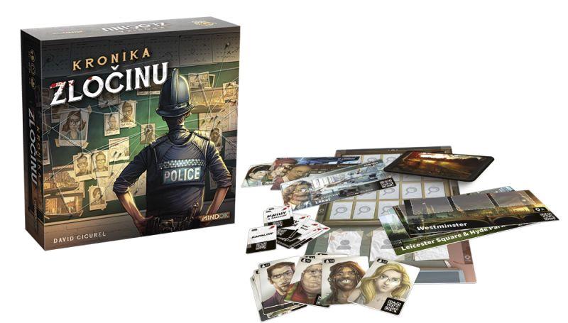 Kronika zločinu - rozbalená hra
