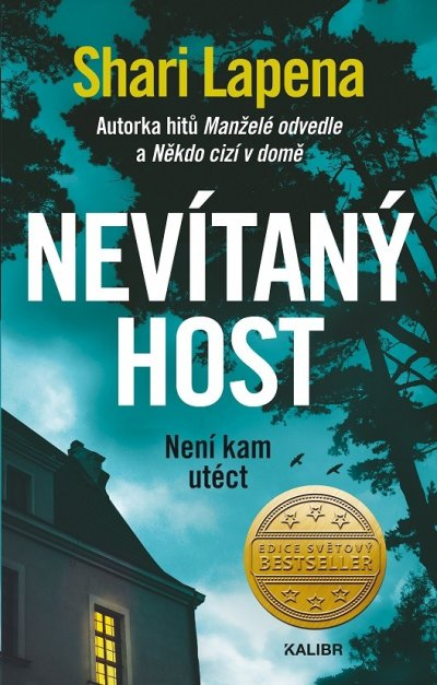 Nevítaný host - obal knihy