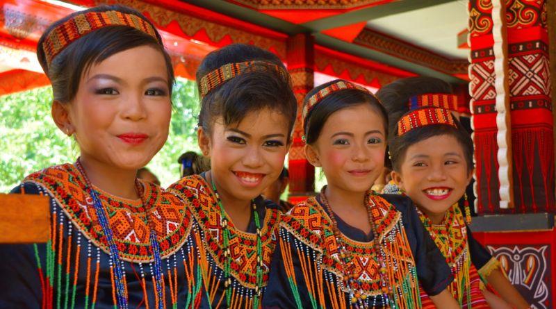Torajové Sulawesi Indonésie