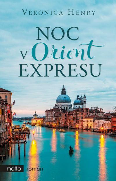Noc v Orient expresu - obal knihy (Motto)
