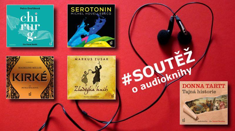 OneHotBook - soutěž o audioknihy