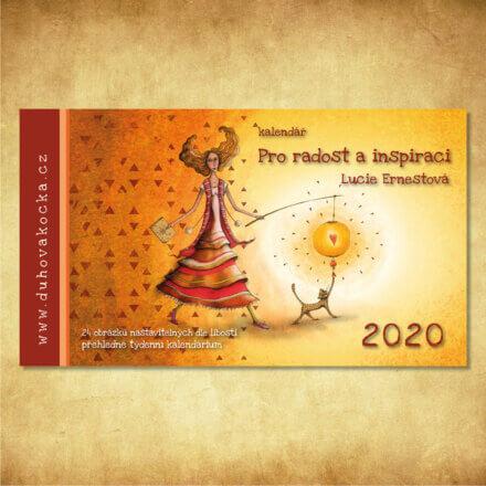 STOLNÍ INSPIRAČNÍ KALENDÁŘ 2020