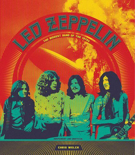 Led Zeppelin - obal knihy