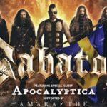 Sabaton v doprovodu kapel Apocalyptica & Amaranthe zbourají pražskou O2 arenu