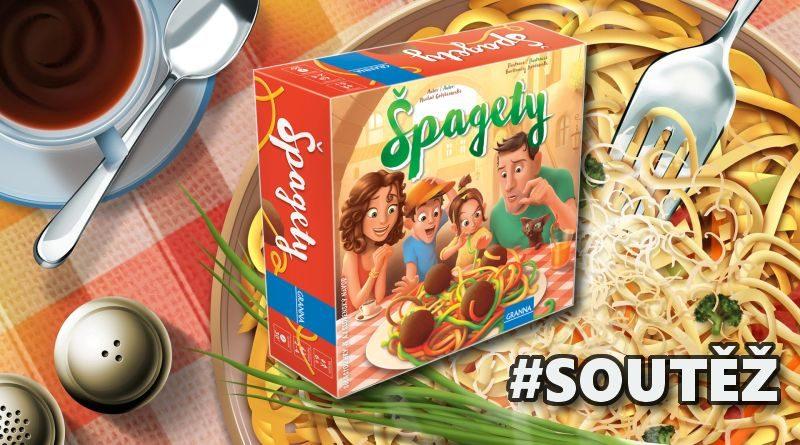 Špagety - desková hra - soutěž