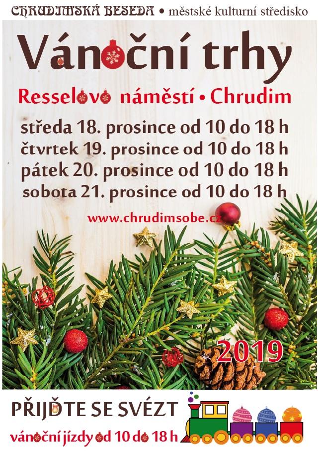 Vánoční trhy Chrudim