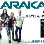 Arakain pokračuje v úspěšném turné i v roce 2020!
