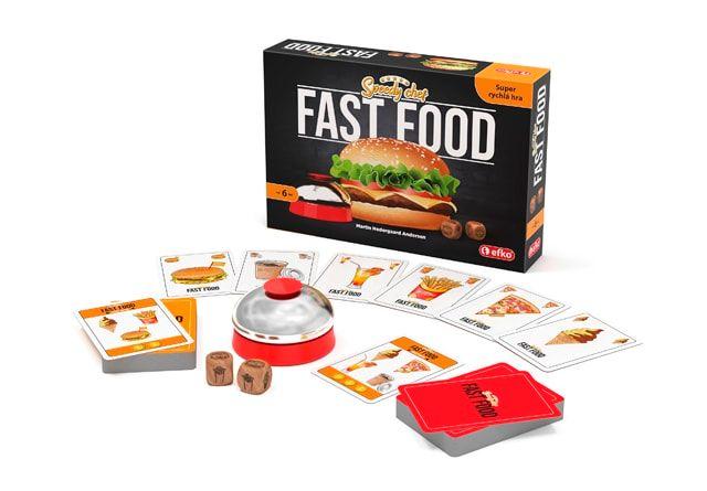 Fast food - rozehraná hra