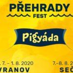 PŘEHRADY FEST – festivalový seriál pro celou rodinu rozšiřuje hudební i dětský program a přidává další vodní aktivity