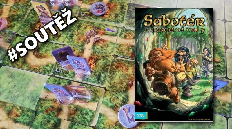 Sabotér - soutěž o deskovou hru (ALBI)