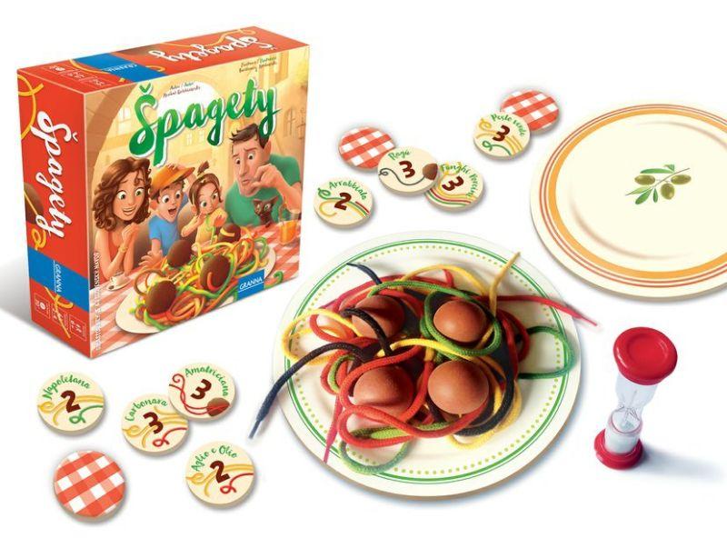 Špagety - desková hra