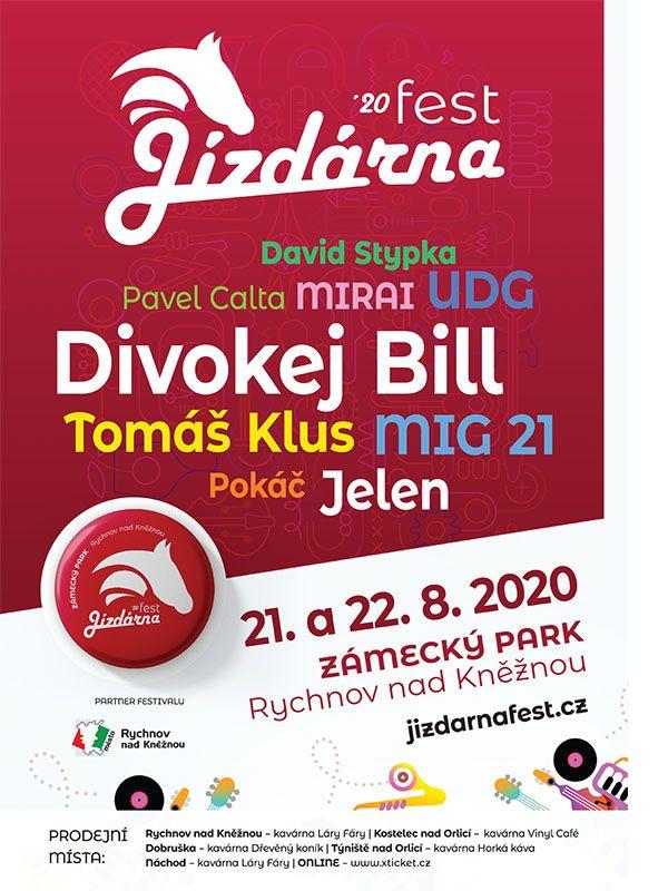 Jízdárna Fest plakát