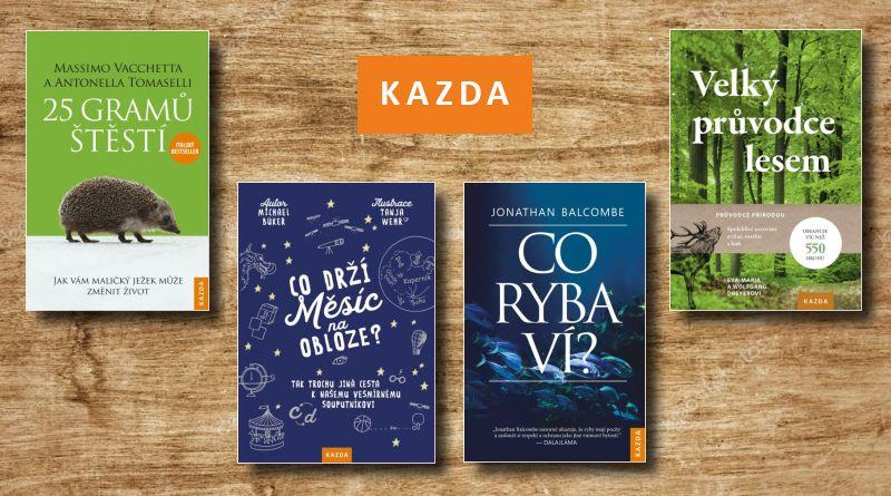 KAZDA - knižní novinky