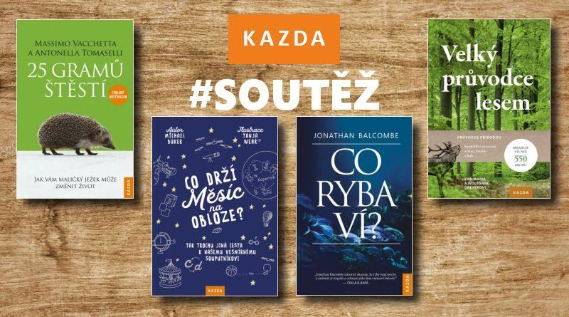 KAZDA - soutěž o knižní novinky