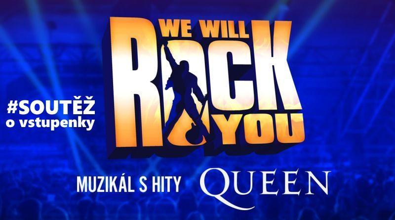 Soutěž o vstupenky na muzikál We will rock you