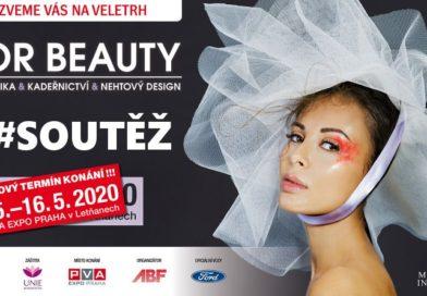 2. SOUTĚŽ o kosmetické balíčky a vstupenky na kosmetický veletrh FOR BEAUTY