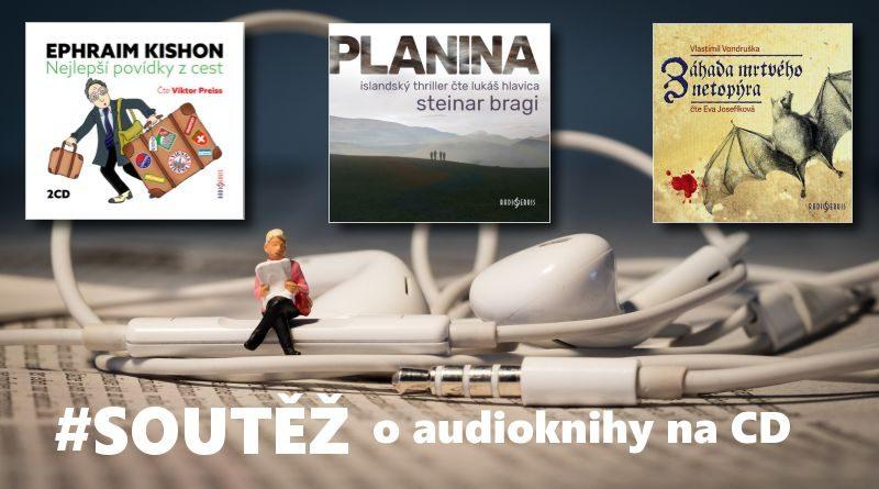 Soutěž o audioknihy vydavatelství Radioservis