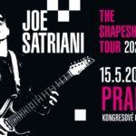 Joe Satriani překládá své evropské turné na příští rok, v Praze vystoupí 15. května