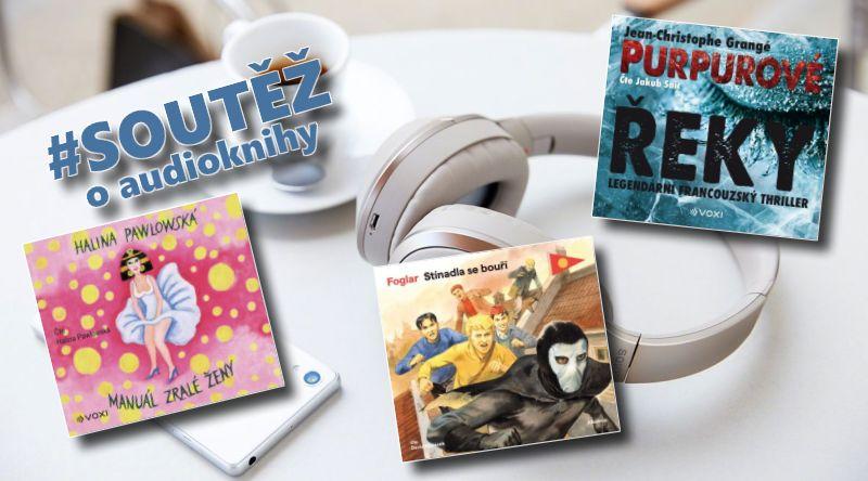 Audioknihy - soutěž