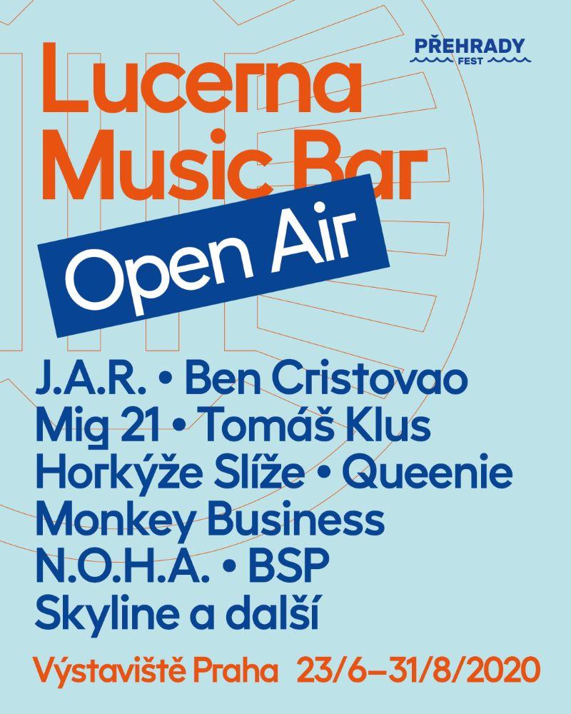 Lucerna Music Bar Open Air 2020