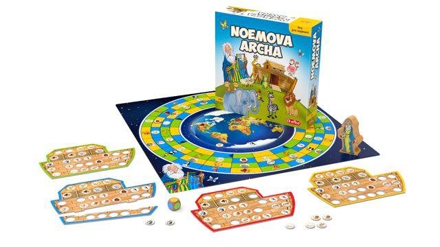 Noemova archa - desková hra rozehraná