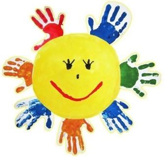 Sluníčko - ruce
