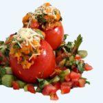 Zapečená rajčátka
