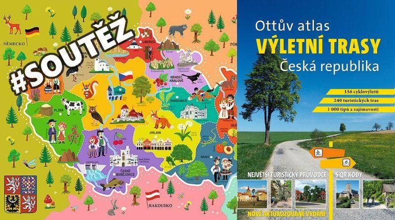 Ottův atlas výletní trasy Česká republika - soutěž