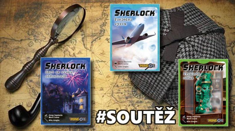 Sherlock - soutěž o hry