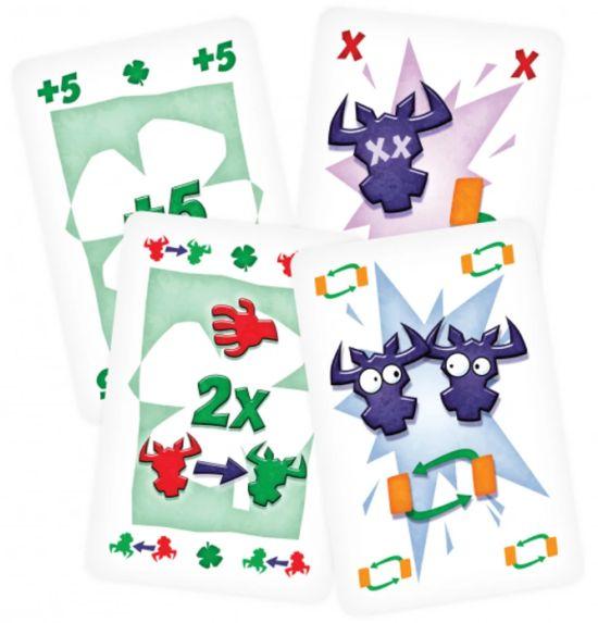 6 Bere - desková hra - karty