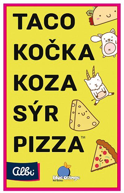 Taco, kočka, koza, sýr, pizza (ALBI)