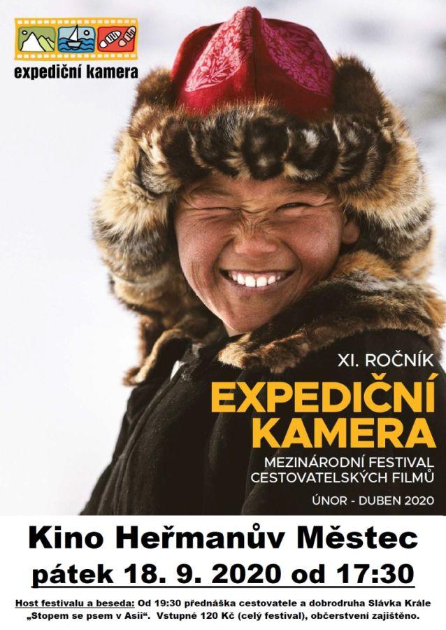 Expediční kamera plakát
