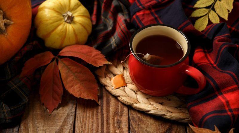 Čaj podzim