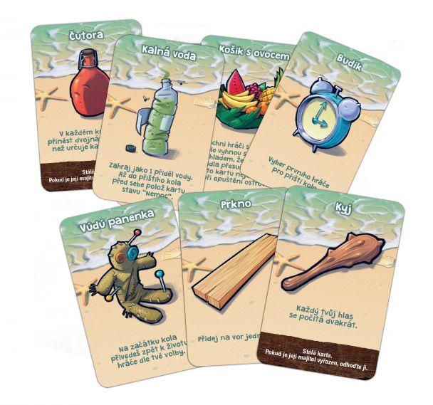 Trosečníci karty