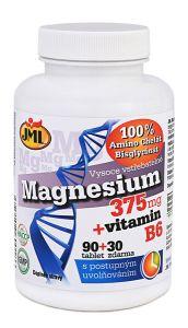Chelát Magnezium 375 + vitamín B6 s postupným uvolňováním