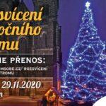 Rozsvícení chrudimského vánočního stromu