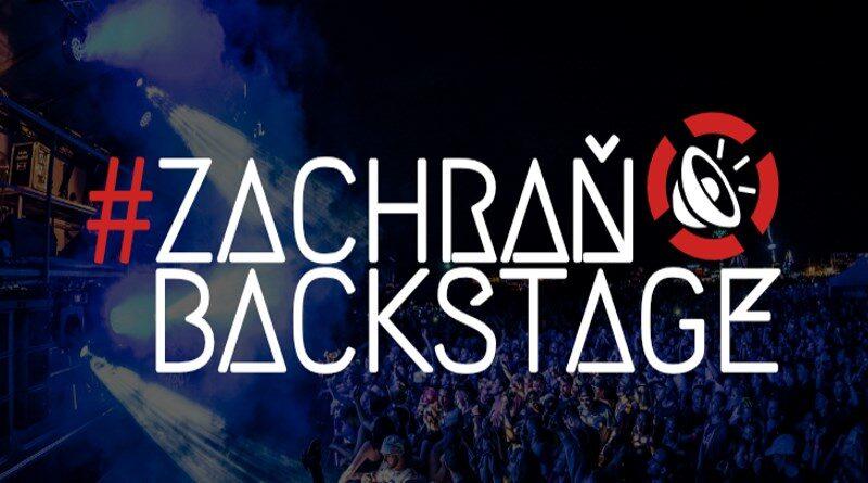 Zachraň backstage 2020