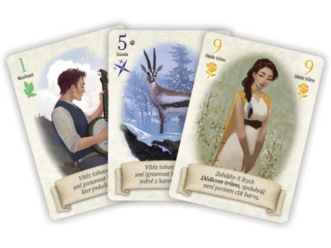 Liška podšitá - karty