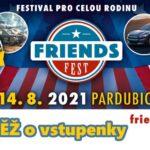 SOUTĚŽ o vstupenky na Friends Fest 2021