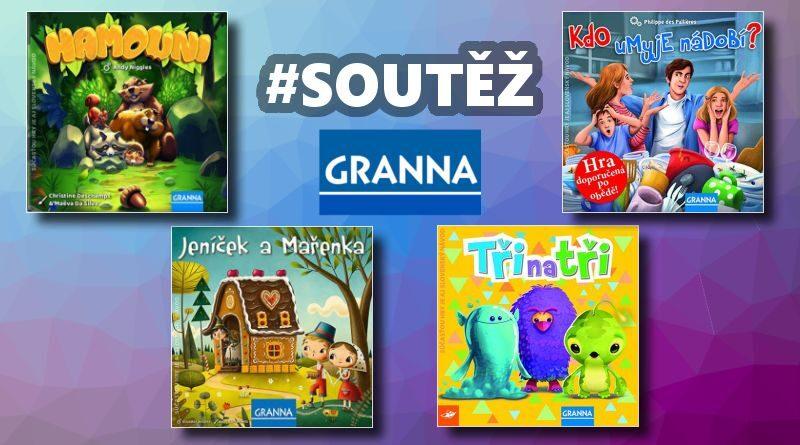 Granna - soutěž o hry