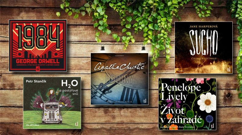 pět audioknih vydavatelství OneHotBook