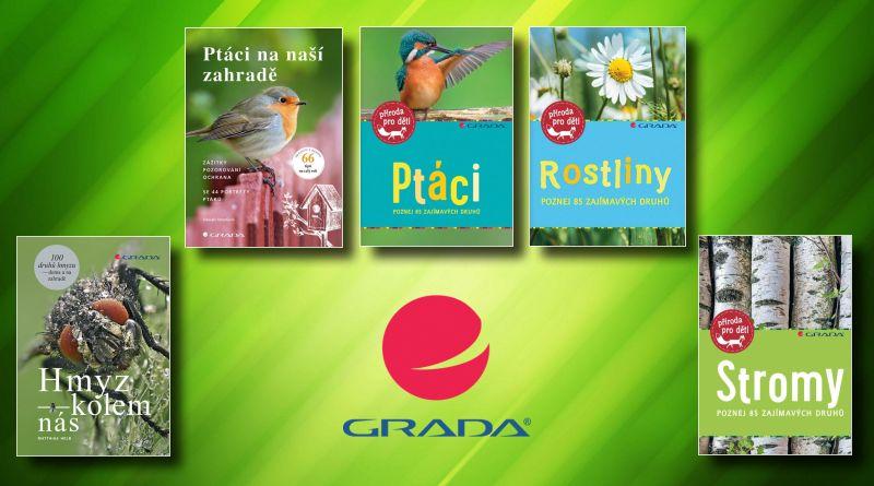 GRADA - soutěž o knihy