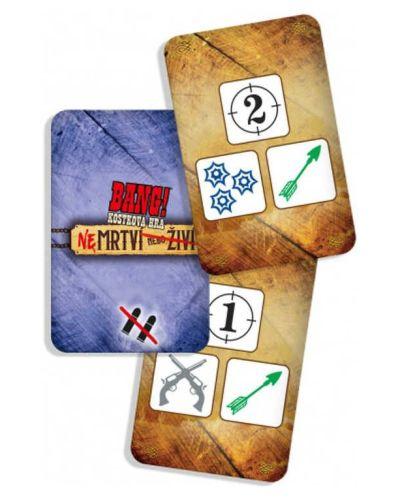 Bang! kostková hra - NEmrtví nebo živí - karty