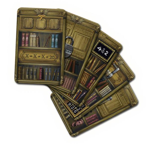 Opuštěná knihovna karty