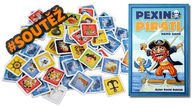 Pexino Piráti - soutěž