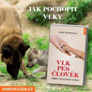 Kurt Kotrschal: VLK – PES – ČLOVĚK